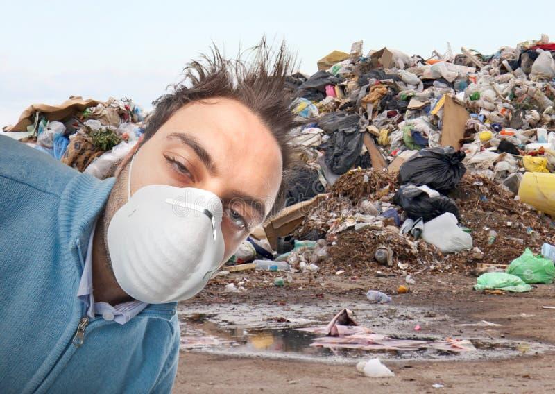 Ar tóxico e poluído fotos de stock royalty free