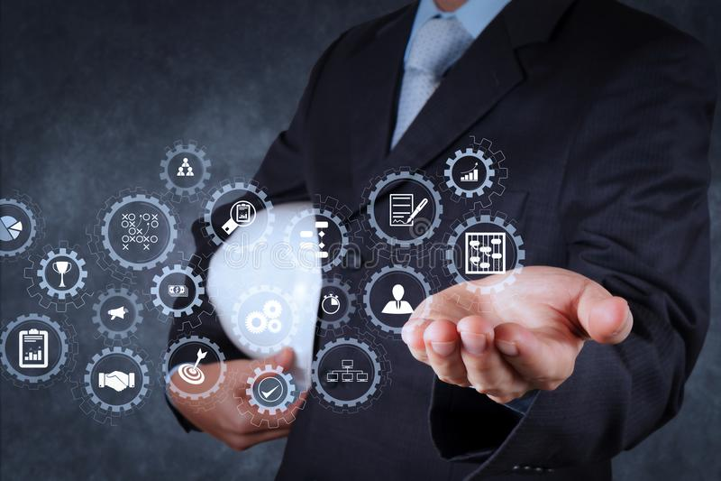 smart engineer royalty free stock image