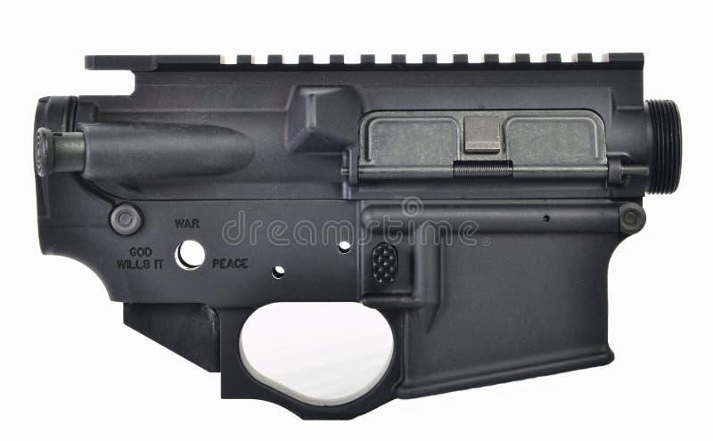 AR15 wierzch & niski odbiorca fotografia stock