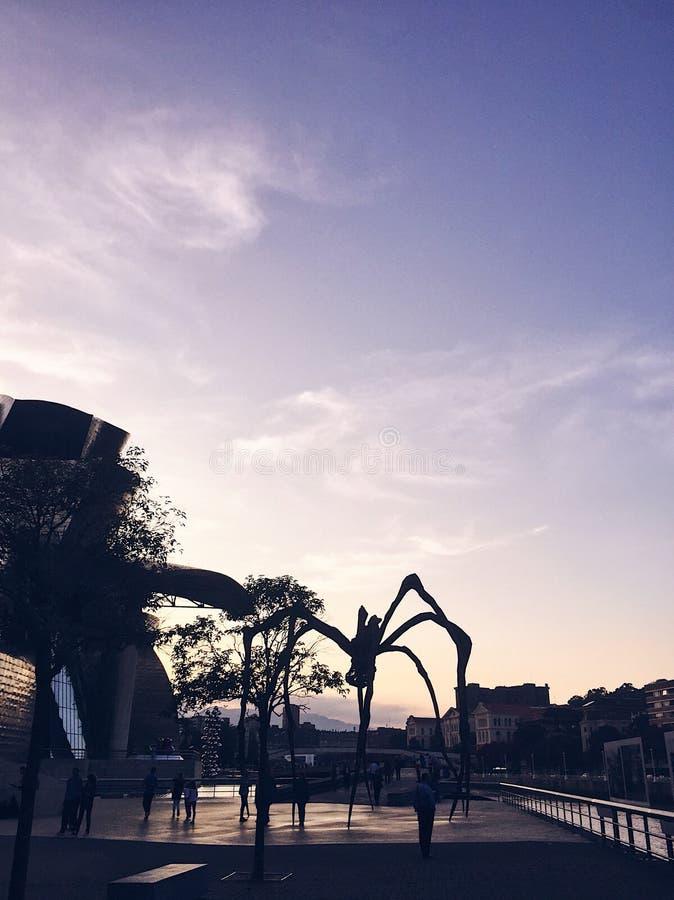 Araña Bilbao imágenes de archivo libres de regalías
