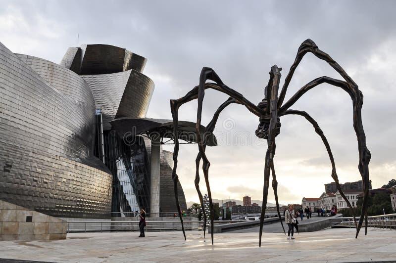 Araña de Guggenheim fotos de archivo