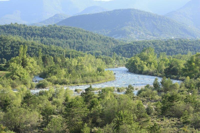 Ara do rio, pyrenees fotos de stock royalty free