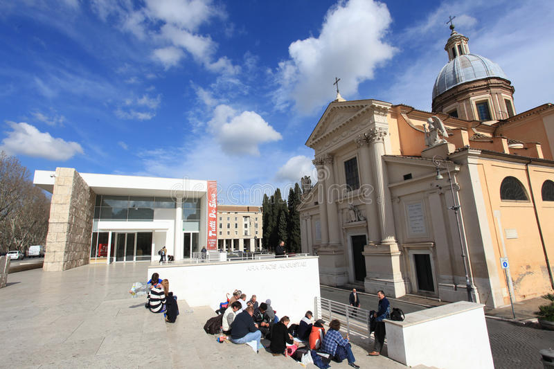 Download The Ara Pacis Augustae Museum In Rome Editorial Stock Image - Image: 29189979
