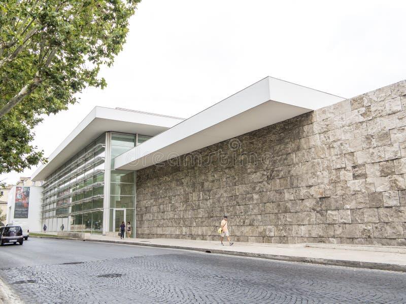 Ara Pacis Museum, Rome image libre de droits