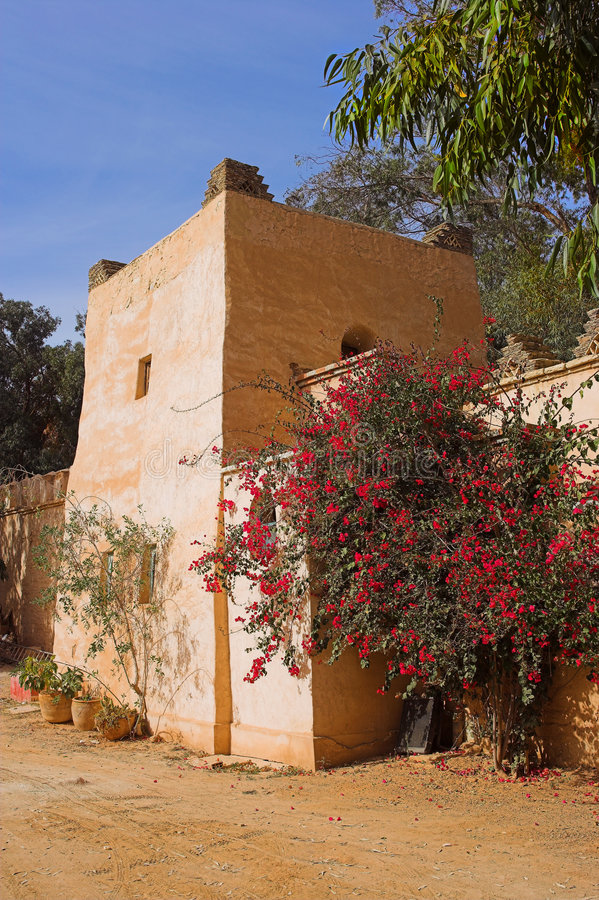Arab Architecture (Morocco) Stock Photography
