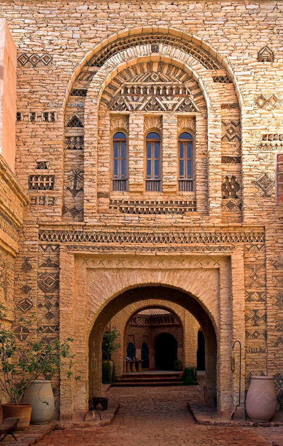 Free Arab Architecture (Morocco) Stock Photography - 2088782