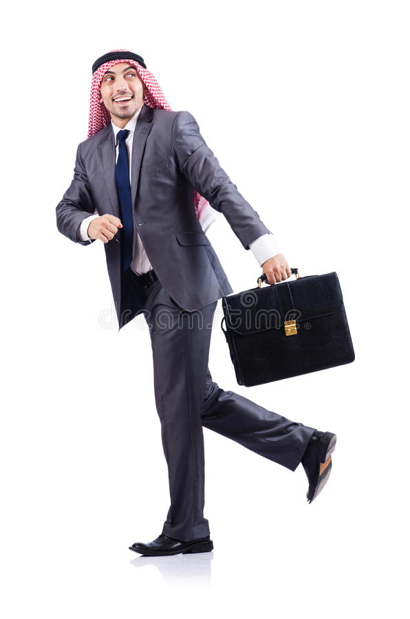 Download Arab businessman isolated stock image. Image of handsome - 28031373