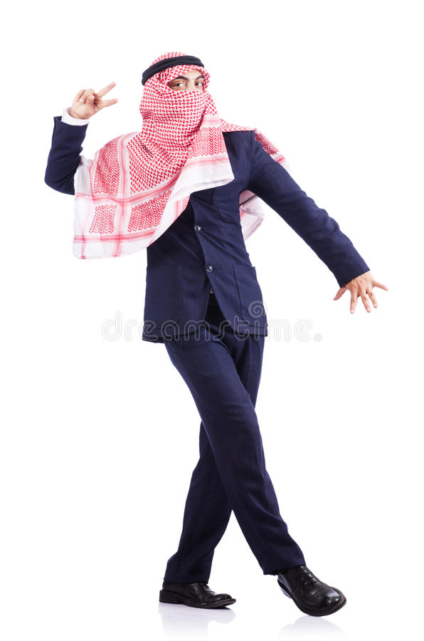 Download Arab businessman isolated stock photo. Image of background - 28348666