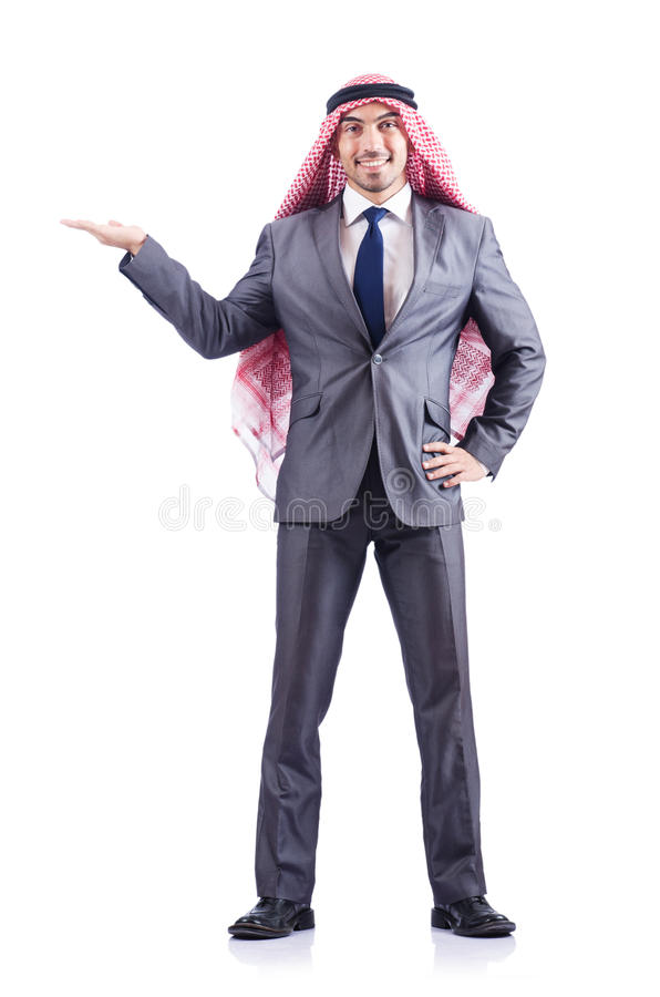 Download Arab businessman isolated stock image. Image of arabic - 28348671