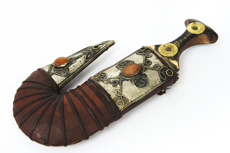 Arab dagger 1 royalty free stock images