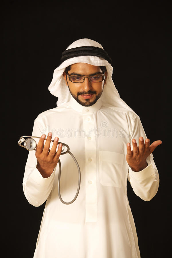 Download Arab doctor stock photo. Image of career, occupation - 21237730