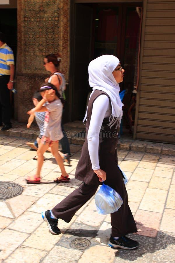Download Arab girl at Jerusalem editorial image. Image of arabic - 25120475