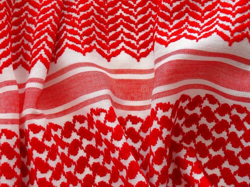Arab keffiyah pattern. stock photography