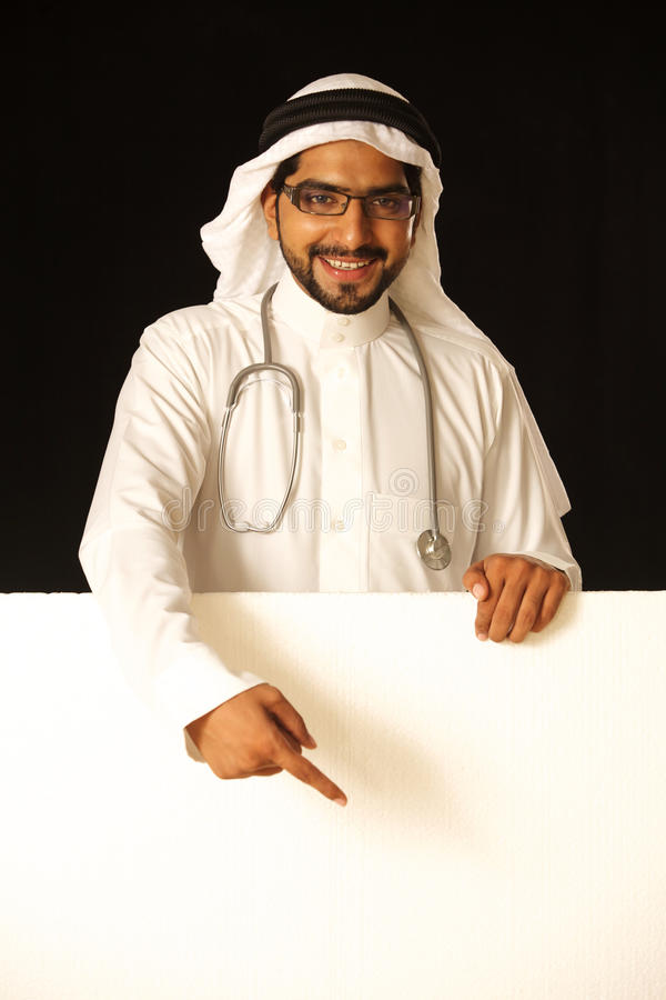 Download Arab male with disply stock image. Image of cool, male - 21237677