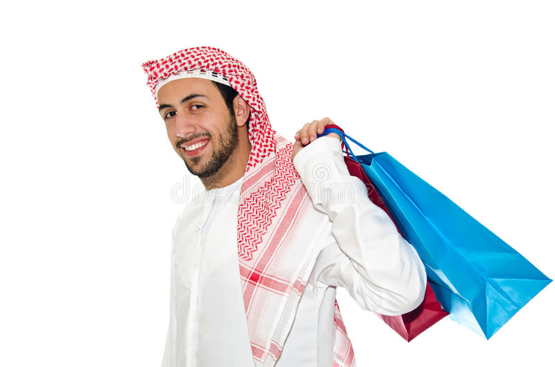 Download Arab Man stock photo. Image of shopping, student, woman - 23886352