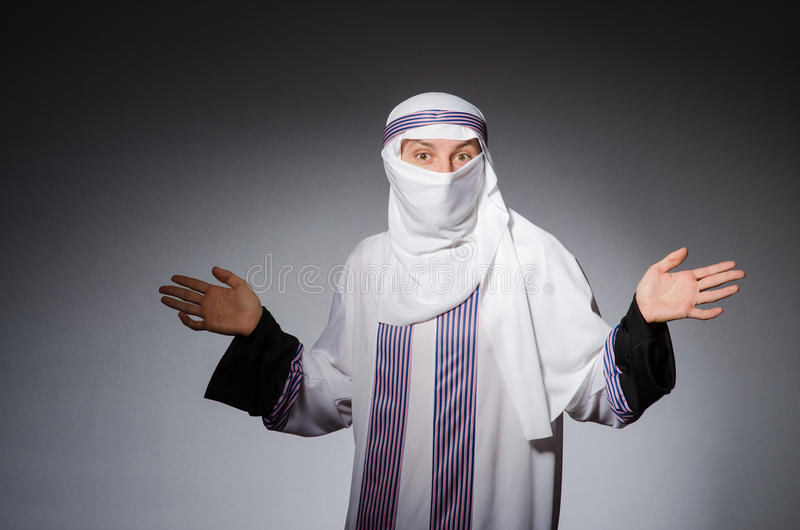 Download Arab man stock image. Image of islamic, arab, arabian - 42204403