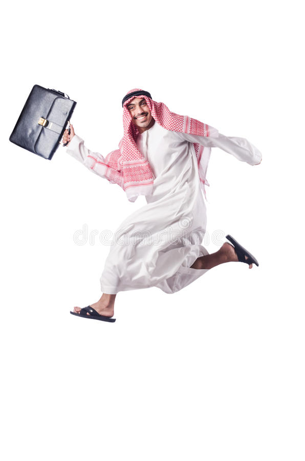 Download Arab man isolated stock photo. Image of isolated, businessman - 27314534