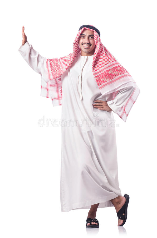 Download Arab man isolated stock photo. Image of expression, businessman - 28135082