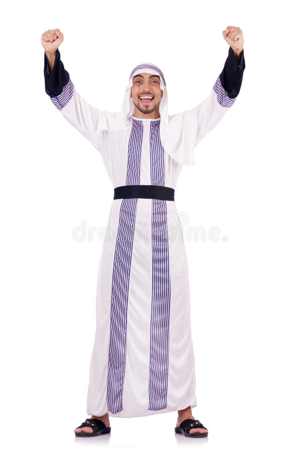 Download Arab Man Isolated Royalty Free Stock Images - Image: 29368279