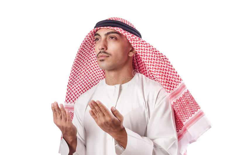 Download Arab man praying stock photo. Image of clothing, allah - 28031252