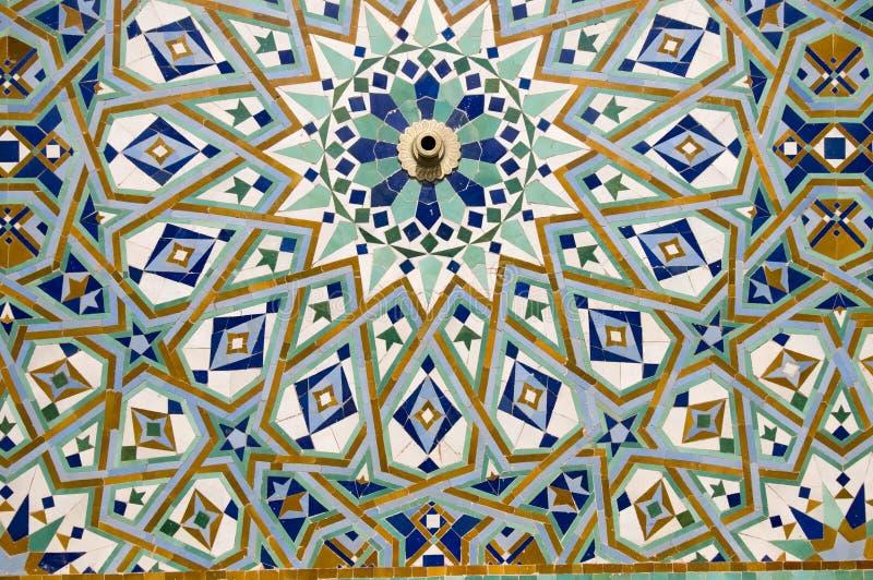 Arab mosaic royalty free stock photos