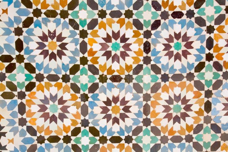Arab mosaic stock photos