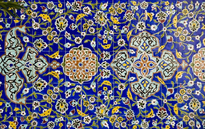Arab Mosaiq theme stock photo
