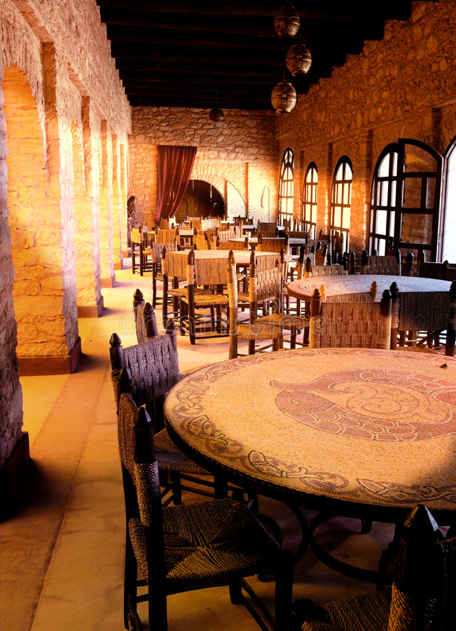 Free Arab Restaurant Late Afternoon Stock Photography - 1980532