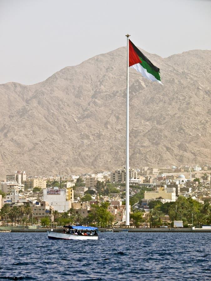 Arab revolution flag royalty free stock images