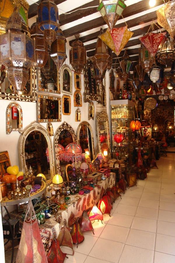 Arab shop royalty free stock photos