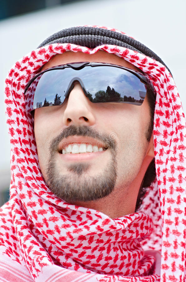 Download Arab on the street stock image. Image of person, male - 25734165