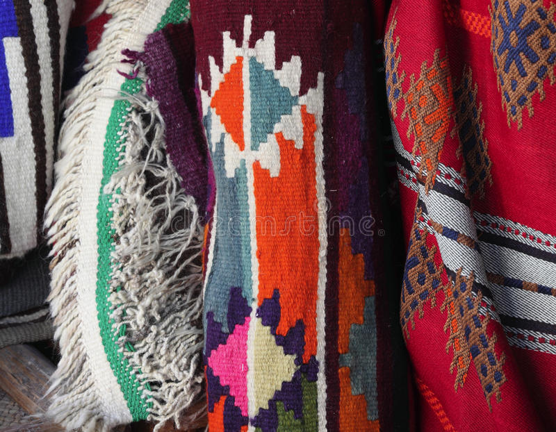 Arab traditional textiles royalty free stock image