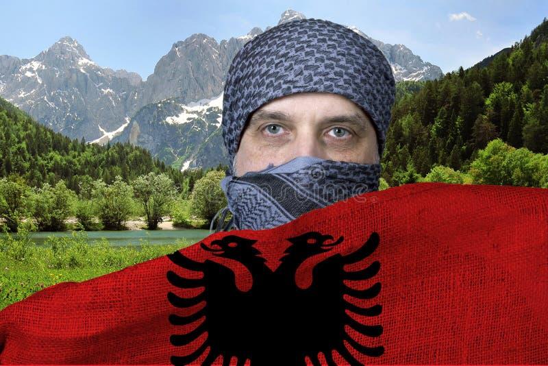 Arab w Albania obrazy stock