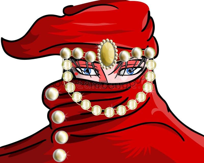 Arab woman royalty free stock photo