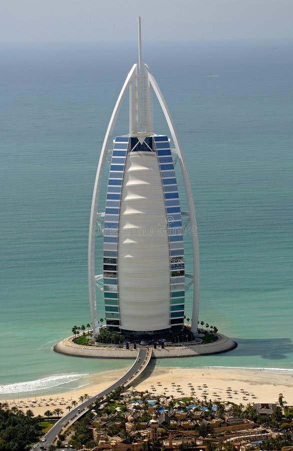 Arabe d'Al de Burj image stock