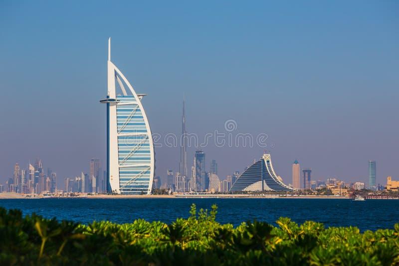 Arabe d'Al de Burj d'hôtel de luxe images libres de droits
