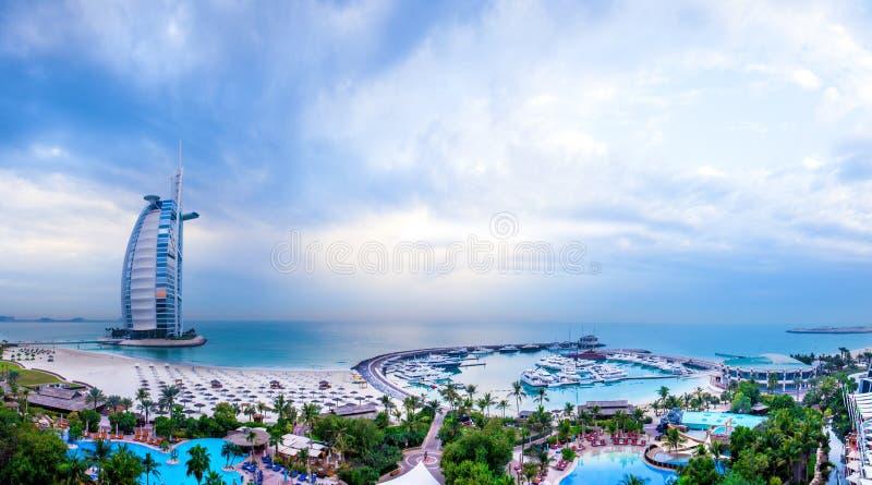 Arabe d'Al de Burj, Dubaï, EAU images libres de droits