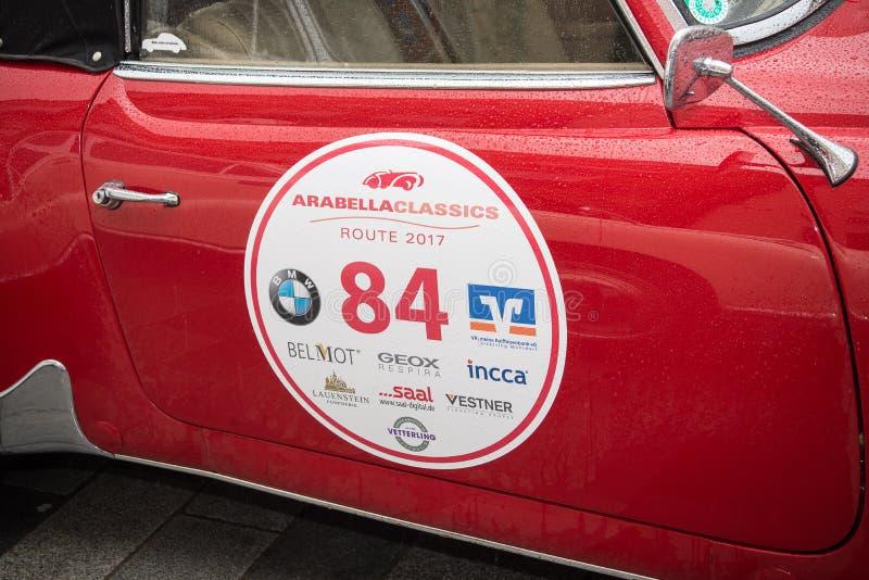 Arabella Classics Rally royalty-vrije stock afbeelding