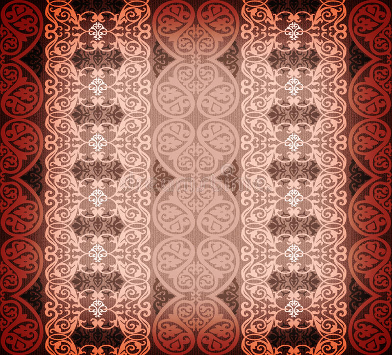 Download Arabesque background stock illustration. Illustration of damask - 12007959