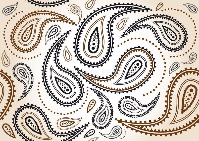 Arabesque de texture illustration de vecteur