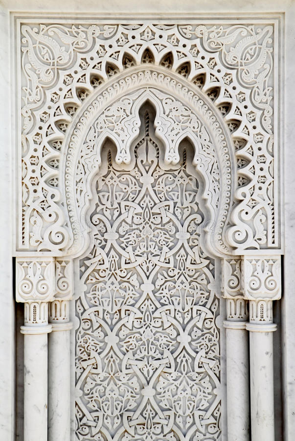 Download Arabesque marble panel stock image. Image of marble, rabat - 30815997