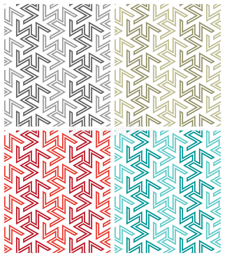 Free Arabesque Repeat Patterns Stock Image - 15658721