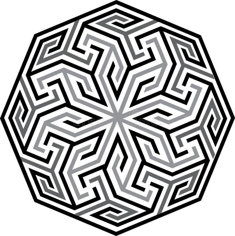 Arabesque seamless pattern stock illustration