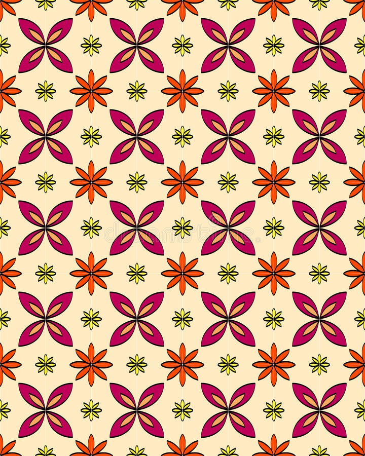 Arabesque Vector Background 002. Vector floral geometric arabesque background color vector illustration
