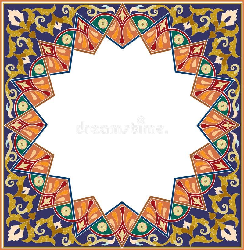 Arabesquepatroon vector illustratie