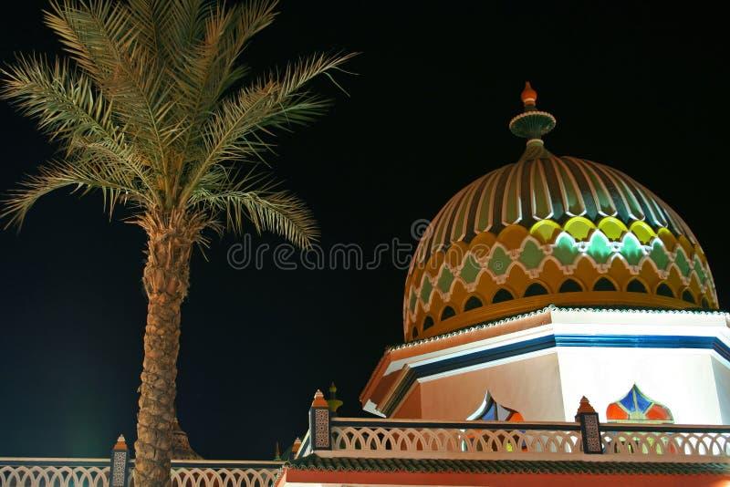 The Arabian architecture royalty free stock photo