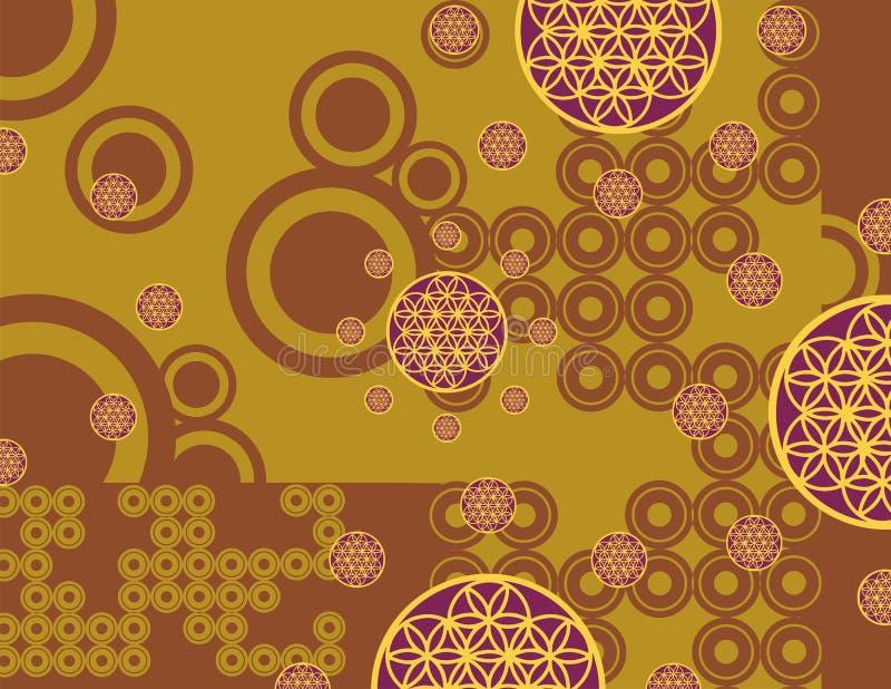 Arabian background series royalty free illustration