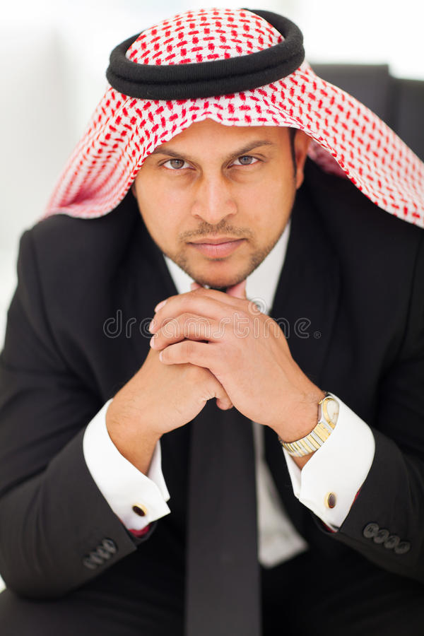 Download Arabian businessman office stock image. Image of collar - 31031093