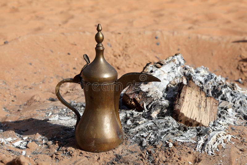 Download Arabian Coffee stock image. Image of bedouin, desert - 26971053