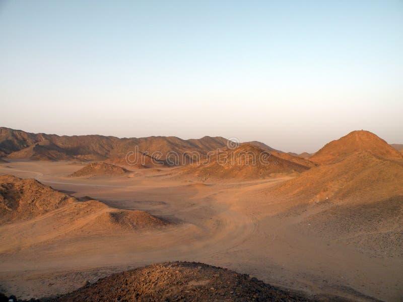 Arabian desert, Africa stock photo